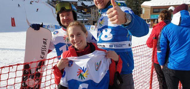 Tag 2: Snowboard-PSL – Lisa Zörweg auf Medaillenkurs gestürzt