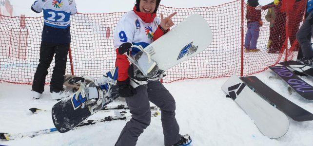 Tag 4: Snowboard – Silbermedaille für Lisa Zörweg im Boardercross